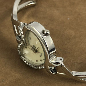"""Figaro Accessories - This Heart Watch Spells """"LOVE"""" By Figaro"""